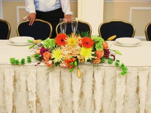 head tables